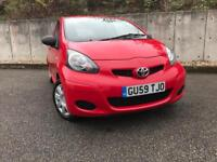 TOYOTA AYGO 1 OWNER FROM NEW