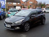 KIA CEED 1.6 CRDi 4 ECODYNAMICS 5dr **ONLY £30 ROAD TAX** (black) 2014