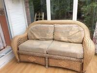 Conservatory furniture sofa seats and table chair