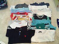 Large bundle of boys 12-18 month clothes