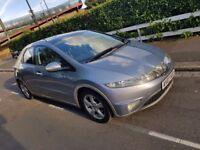 Honda civic 2.2 ctdi, 07 REG, 5dr with Panoramic sunroof, new mot