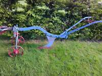 Vintage plough, Ruston & hornsby