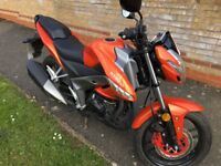 Like New Kymco CK1 Naked Sport Motorbike