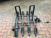 Halfords Tow Bar Mounted 4 Bike Carrier