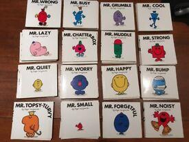 Mr Men complete set of books for SALE