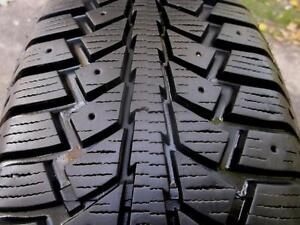 GREAT SHAPE ! 185 70 14 - UNIROYAL TIGER PAW - SNOW TIRES - SET OF 4