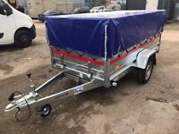 Tema tiper Brand new trailer ! 236cm x 125cm x 46cm + mesh side 40cm and cover