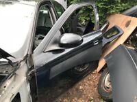 2005 jaguar s-type passenger front door - black