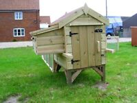 Brand New Small Chicken House/Coop with Run For Sale