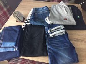 Boys bundle jeans and joggers