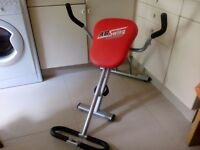 AB Swing Revolution for exercise ,folding for storage in good condition