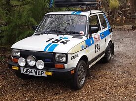 Fiat 126 Bis Rally replica