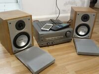 SONY AMP / PHILIPS SPEAKERS