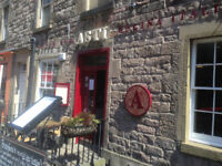 ASTI require full time Bar & Waiting staff