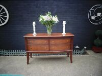 SOLID WOOD SIDEBOARD ABSOLUTELY STUNNING UNIT IN EXCELLENT CONDITION 148/52/92 cm £120