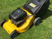 Champion self propelled petrol lawnmower