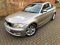 BMW 1 Series 2.0 120d SE 2dr p/x considered FULL S/H LEATHER SUN ROOF 2009 (09 reg), Coupe