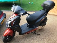 Sym jet4 125 . Mint condition, one owner from new,