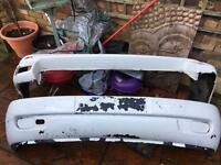 VW T4 front and rear bumpers