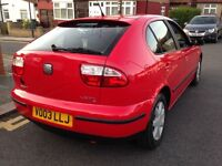 Seat Leon in PERFECT condition FULL SERVICE HISTORY