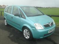VAUXHALL MERIVA LIFE CDTI 1.7 DIESEL,2004(PX TO CLEAR) ONLY £495!