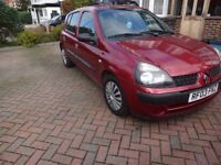 RENAULT CLIO 2003 EXPRESSION SOLD AS IS OR BREAK FOR SPARES