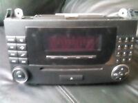 Car radio, Mercedes A, B Class. ISO adapter