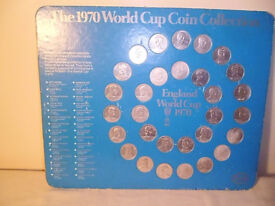 ESSO 1970 ENGLAND WORLD CUP COIN COLLECTION