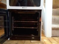 Hotpoint HAE51P double cavity electric cooker in excellent condition