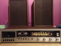 Vintage Stereo - Realistic Modulette 939 w/ Speakers