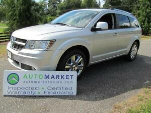2010 Dodge Journey R/T, AWD, LEATHER, INSP, WARR