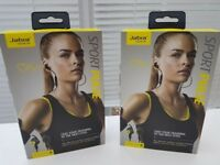 2 New Pairs Of Jabra Pulse Sport Blu-Tooth Headphones