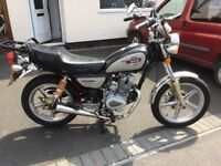 125 motorcycle for sale