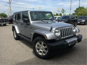 2016 Jeep WRANGLER UNLIMITED SAHARA**LEATHER**NAVIGATION**BLUETO