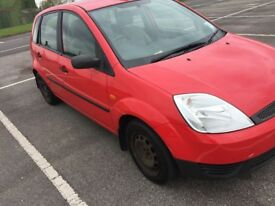 selling 2003 Ford fiesta.