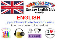 Improve your English! FREE Conversation & LOW-COST lessons on Sundays: Small friendly mixed group