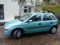 Vauxhall Corsa 1.2 2003