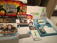 Wii Fit for sale and accessories fantastic for Christmas present