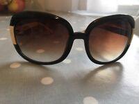 Fossil ladies sunglasses black cream