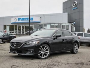 2015 Mazda MAZDA6 GT-SKY, ACCIDENT FREE, ONE OWNER, Off-White Lt