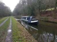 42ft Canal Boat - Needs work, but a fantastic boat
