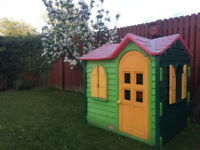 NOW SOLD______Little Tikes Country Cottage - Evergreen Playhouse
