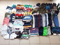 Bundle of baby boy/toddler clothes size 18-24 months (92pcs)
