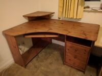 FREE!! must go today, solid oak desk