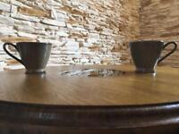 Coffe table with embedded real coffee beans