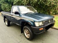 WANTED TOYOTA ! HILUX PICKUP MK3 ! ANY MILEAGE, CONDITION ! CASH WAITING