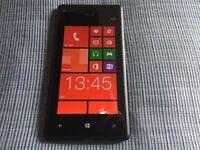 HTC Windows 8 16gb unlocked smartphone - black