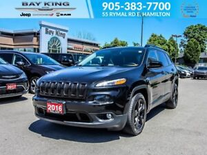 2016 Jeep Cherokee ALTITUDE, BACKUP CAM, REMOTE START, BLUETOOTH