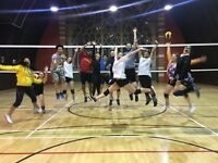 Volleyball classes for beginners