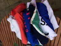 Bundle 7 T-shirts polo shirts Superdry Hollister etc Size Small
